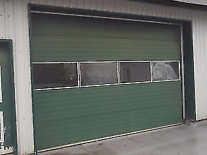 """10' X 14"""" AUTOMATIC ROLL UP GARAGE DOOR - READY TO GO"""