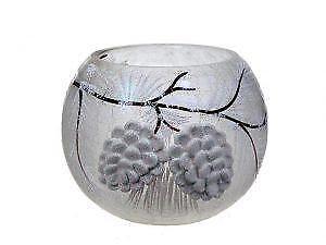 Round Glass Tealight Holder Set (BD-2715)