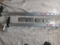 Pair of Transit Roof Bars Low Roof With Gutters 2000-2013
