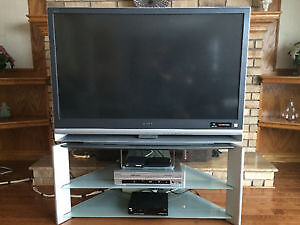 "Sony Grand Wega Rear Projection 55"" TV"