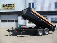 BLOW OUT PRICING!! New 2018 Mirage Dump Trailers Red Deer Alberta Preview