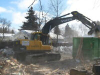 Exacavtor and Bobcat Services and Tandem Gravel Trucks For Hire!