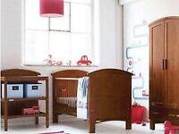 Cosatto Hogarth Nursery Furniture Set Walnut