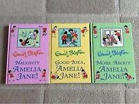 3 Enid Blyton Amelia Jane Books