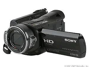 Sony HDR SR7 60 GB  full 1080p camcorder