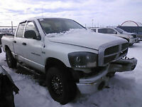 2006 DODGE RAM 2500 SLT Q.C FOR PARTS/WHOLE
