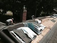 Damaged gutters, roof or siding? A.M roofing can help !