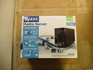 ZyXEL 2-Bay Power Plus Media Server NSA325 US01F 2-Bay