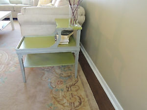 Rustic Two Tier End Table Peterborough Peterborough Area image 3