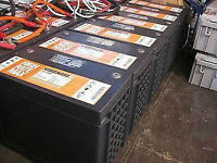 Deep cycle batteries, high end, for off grid camp or house.