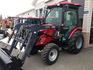 BRAND NEW TYM 394 Tractor, Loader,Cab,Snow Blower Package Deal