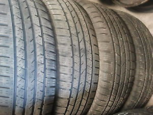 185/65R15 Set of 4 Continental Used Free Inst.&Bal.85%Tread Left