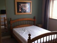 Double bedroom in Axminster Town centre Professional Shared House Off Street Parking Wifi