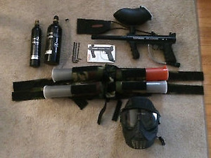 Tippman 98 custom package -Great deal, Great Condition