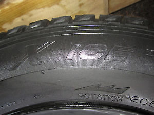 4 MICHELIN X-ICE 205/65R 15. London Ontario image 6