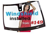 windshield replacement now starting @ 149 onwards ---.