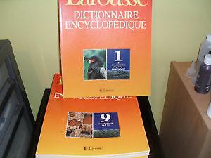 DICTIONNAIRE ENCYCLOPÉDIQUE LAROUSSE NEUF 24 VOLUME