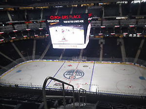 (2 Tickets) Edmonton Oilers vs Winnipeg Jets Dec 12