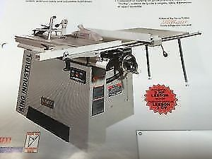 KING INDUSTRIAL SLIDING TABLE PANEL SAW-NEW