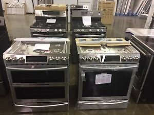 GAS RANGE BLOWOUT ON NOW AT DIRECT LIQUIDATION