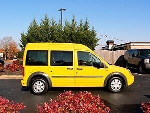 2011 Ford Transit Connect XLT Wagon Premium - Taxi trim