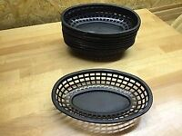 Black catering containers