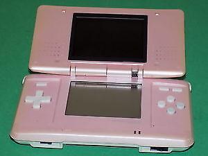 Nintendo ds rose 1st gen pink