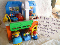 Fisher Price Little People Garage & Car Wash
