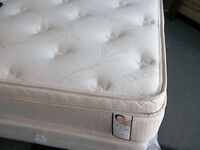 BRAND NEW DOUBLE/QUEEN ORTHOPEDIC ORGANIC COTTON MATTRESS&BOX