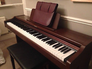 Technics Digital Upright Piano- authentic piano sound and touch