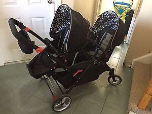 countour double stroller  for sale