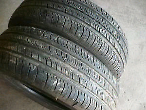 Pair of USED 195/65/15 M+S All Season Tires (Hyundai Elantra)