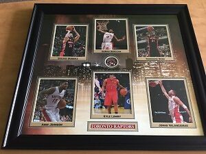 Picture Frame w/ the Toronto Raptors - SPECIAL Only $180!