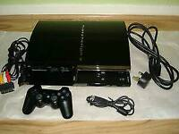 PS3 console 60gb the compatible one what plays ps1/ps2 /ps3 games/ cash or swaps
