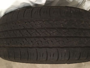 4 Firestone Touring S4 summer/4 seasons tires 195/65/15""