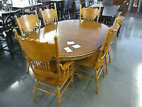 7 pc table and chair CLEARANCE SPECIAL Regular 2599 Now 900
