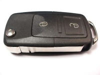 VW-SEAT-SKODA 1J0 959 753 AG/1J0 959 753 CT 2 BUTTON REMOTE KEY CUT & PROGRAMMED