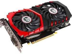 MSI GeForce GTX 1050 Ti 1050 Ti GAMING X 4GB PCIe 3.0 Video Card
