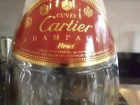 Cartier Cut Crystal Bottle VERY RARE Empty 750 ML LTD