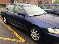 2002 Honda Accord Special Edition Pneu Neuf