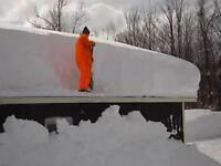 Roger' roof snow removal