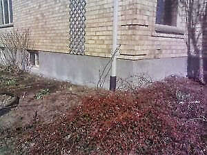 CONCRETE WALL PARGING REPAIRS! FAST & ECONOMICAL London Ontario image 1