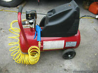 New Coleman 8 gal 125 psi Oiless Compressor