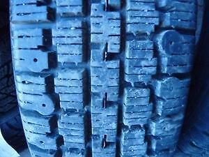 2 pneus d'hiver 155/80/13 Nordic Wintertrac