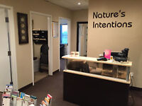 Receptionist for a Nature's Intentions Naturopathic Clinic