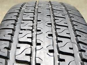 2  ST205 75R15 GOODYEAR M&S  HEAVY PLY TRAILER TIRES