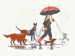 Promeneuse de chiens