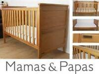 mamas and papas Hampton cotbed Caversham