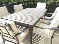 6 Place Patio Table set Gluckstein Home