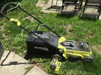40 volt lawnmower
